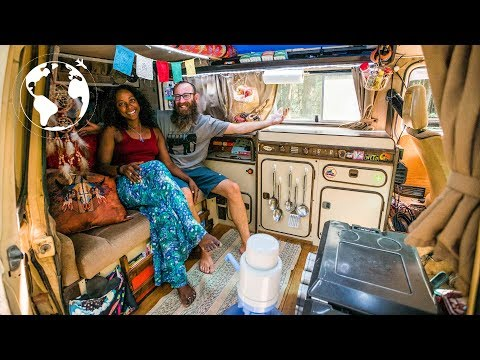 Couple Trade Apartment in New Orleans to Travel in a VW Van
