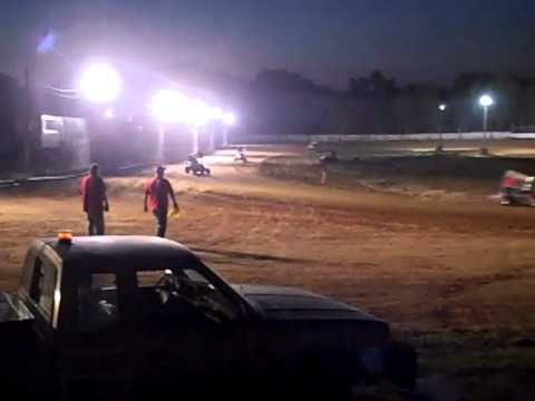 GadgetSprintRacing @ Ocala Micro Speedway 2/19/2011 Heat 1