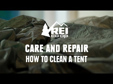 Video: How to Clean Your Tent