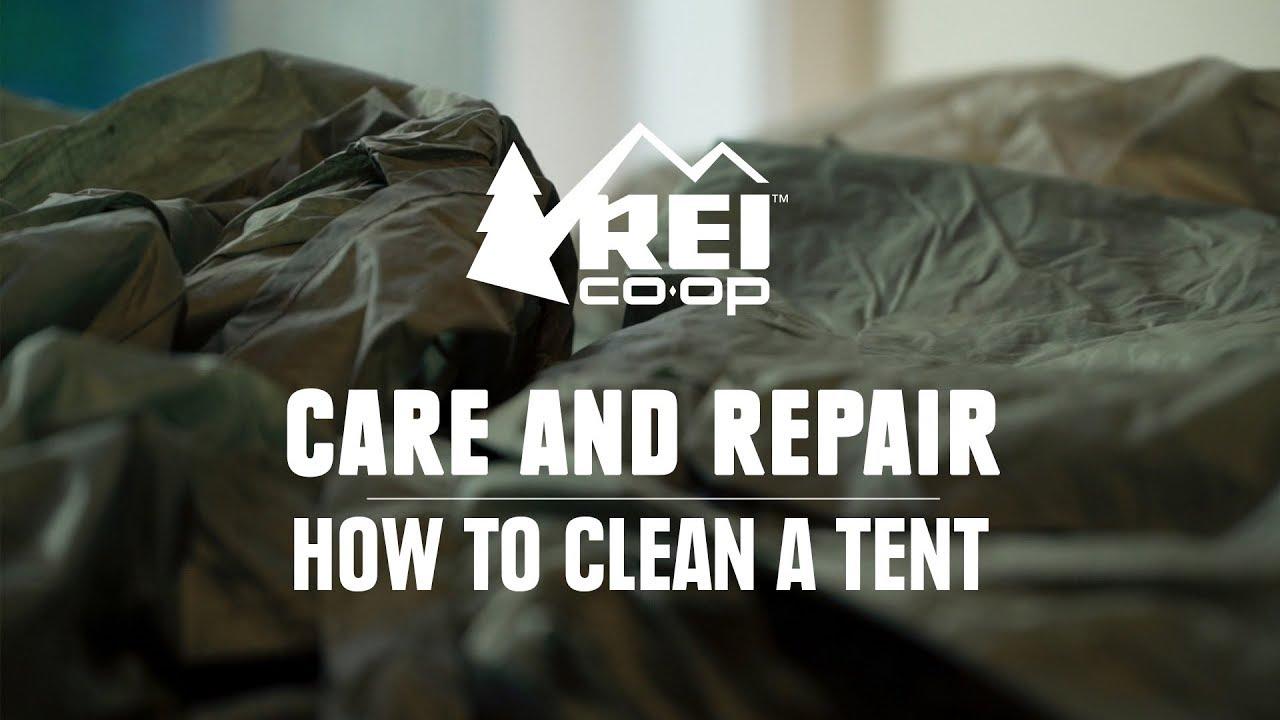 How to Clean a Tent || REI & How to Clean a Tent || REI - YouTube
