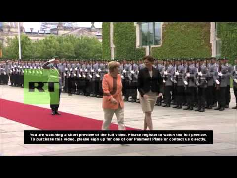 Germany: Merkel prescribes privatisation for Slovenia's economic ills