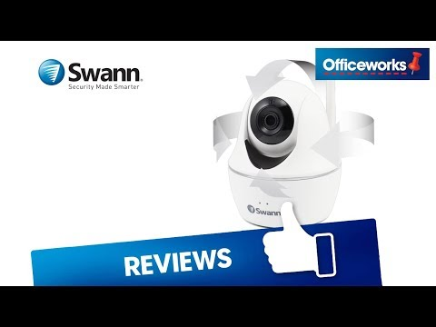 Swann WiFi Pan and Tilt Security Camera White