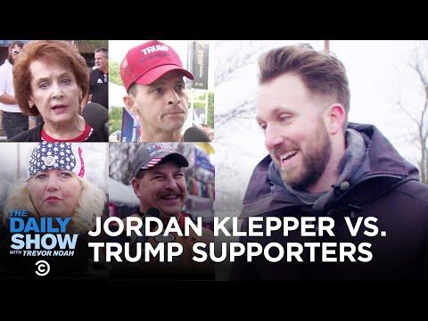 Jordan Klepper vs. Trump Supporters   The Daily Show