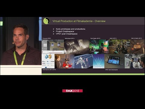 FMX2018: Evolution of Virtual Production at a Film School