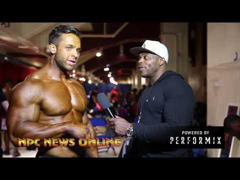 2018 IFBB NY PRO MEN'S CLASSIC PHYSIQUE WINNER REGAN GRIMES