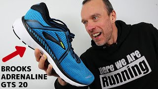 Brooks Adrenaline GTS 20 | Running Shoe REVIEW | Here We Are Running