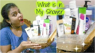 What's in my Shower || My Shower Essentials || makeUbeautiful