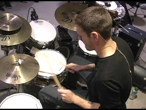 Funky Munky Music- Nicko Pelley Drum Clinic Solo 1