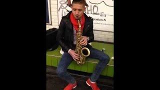 Nikolas - Rap Lautaresc, Improvizatii Saxofon 2014 ( By Yonutz Salam )