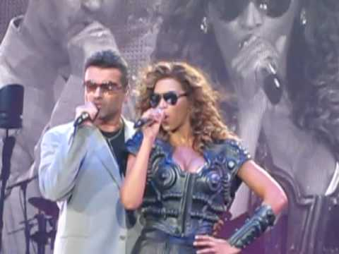 Beyonce and George Micheal ' If I were a boy'