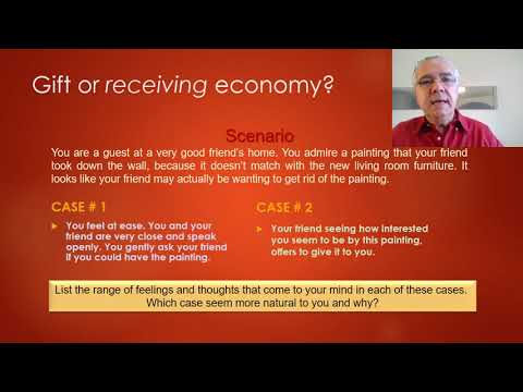 Gift and reciprocity: the anthropologists' and new economists' visIon-- Lecture 10