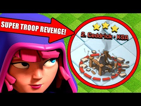 FIRST EVER SUPER TROOP REVENGE IN CLASH OF CLANS!