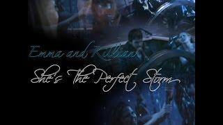 Emma and Killian - She's the perfect storm