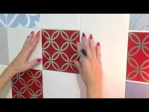 Carrelage Mural Autocollant Top Cm Tanche Oilproof Haute - Stickers carrelage cuisine 15x15 pour idees de deco de cuisine