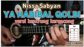 Download ya habibal qolbi - nissa sabyan cover versi kentrung senar 3 liril + chord Mp3