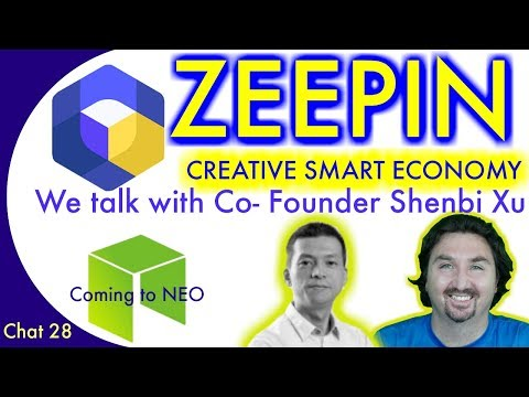 Zeepin is coming to NEO. Chat with Zeepin Co-Founder Shenbi Xu about the CREATIVE SMART ECONOMY