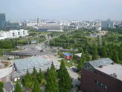 Panaromic View of Gwangju, South Korea