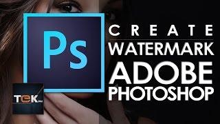 Adobe Photoshop CC Filigran Oluşturma