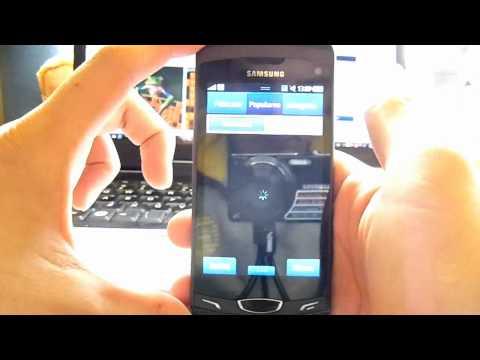 Samsung Apps w Samsung S8530 Wave II. samsungbada.pl
