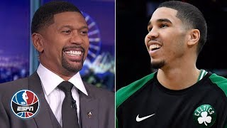 Jalen Rose vs. Jayson Tatum hairline debate, Kyrie Irving's career-high stats