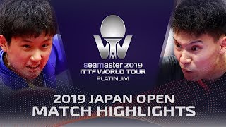 Tomokazu Harimoto vs Sun Wen | 2019 ITTF Japan Open Highlights (R32)