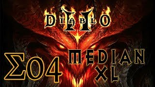 Imon Plays [Diablo II (Median XL Σ1.0.0)] #04 Bowazon Act 1-2 Nightmare
