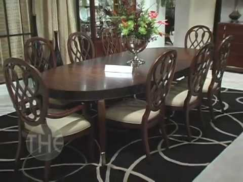 Spectacular Dining Room Set, 'Bob Mackie Home-Signature' Collection by  American Drew - YouTube - Spectacular Dining Room Set, 'Bob Mackie Home-Signature