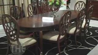 Spectacular Dining Room Set, 'bob Mackie Home-signature' Collection By American Drew