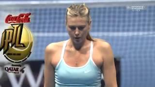 Maria Sharapova vs Ana Ivanovic FULL MATCH HD IPTL KOBE 2015