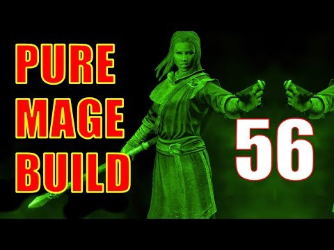 Skyrim Pure Mage Walkthrough NO WEAPONS NO ARMOR Part 56 - Oculory Puzzle Solution, Containment thumbnail