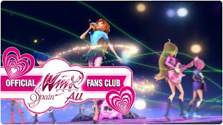 "You Are the One ""Eres Única"" Winx Club En Concierto CASTELLANO"