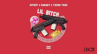DaBaby ft. Offset & Young Thug - LIL B*TCH (Audio)