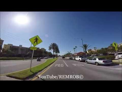 Driving Redington Beach, Florida Spring Break 2016
