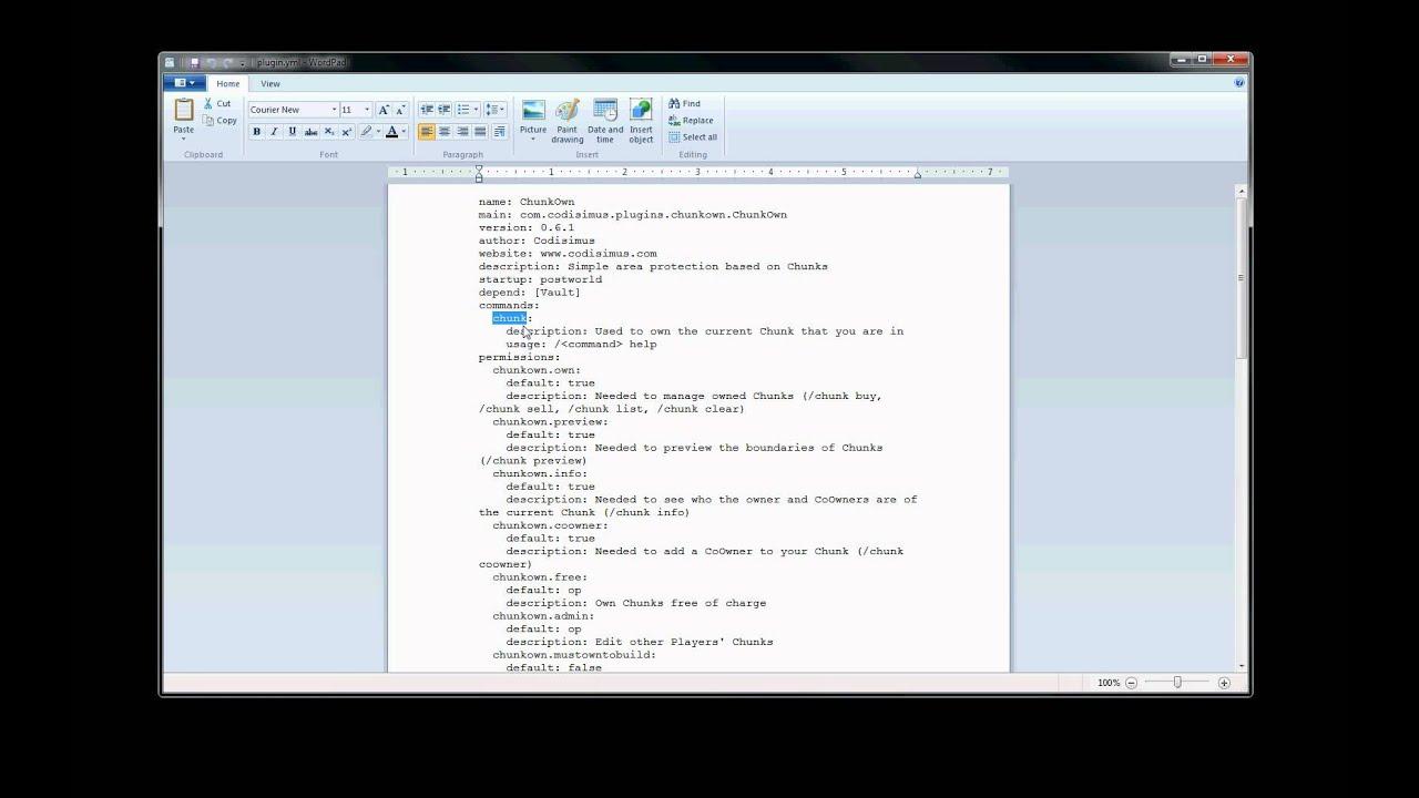 Overview - ChestLock - Bukkit Plugins - Projects - Bukkit