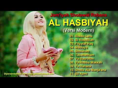 Subhanallah Merdu...!!! Jam'iyah Sholawat Rebana Modern AL HASBIYAH Caruban HD