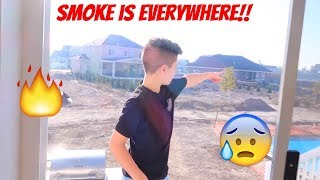 INSANE UTAH FIRE!!! *evacuated* ?? Vlog  😰 | Brock and Boston
