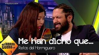 Teléfono escacharrado japonés con Mónica Cruz, David Bustamante y Rafael Amargo - El Hormiguero 3.0