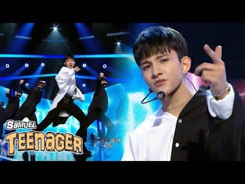 [Comeback Stageg]  Samuel - TEENAGER,  사무엘 - 틴에이저 Show Music Core 20180602