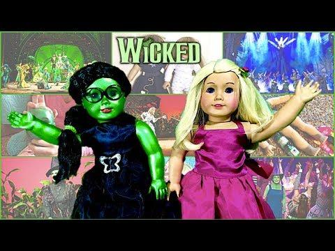 Making WICKED Custom AG Dolls!