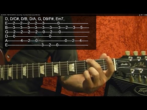 LED ZEPPELIN - Good Times Bad Times - Guitar Lesson