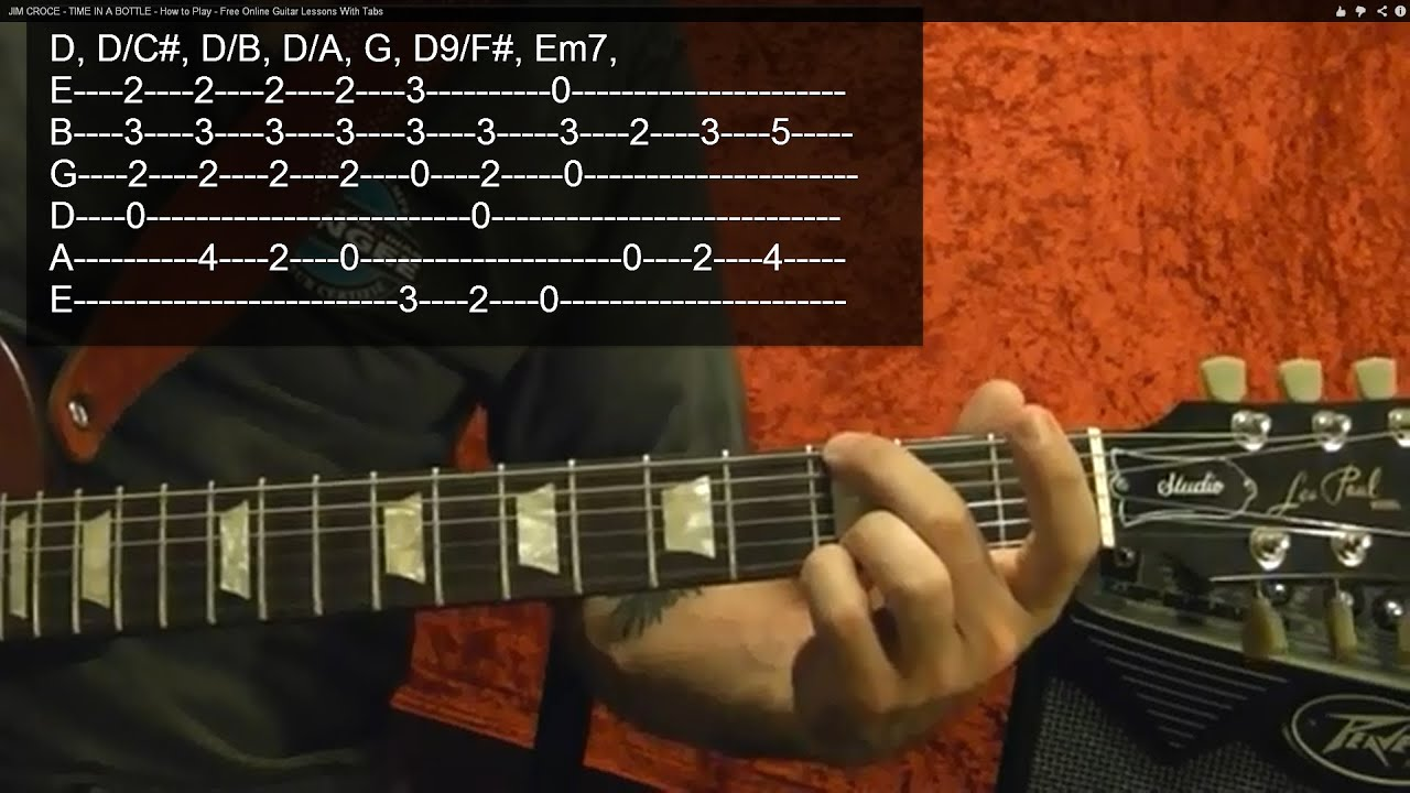 LED ZEPPELIN - Good Times Bad Times - Guitar Lesson - YouTube