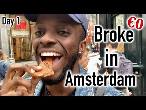 Broke in Amsterdam - Day 1