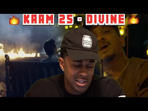 REACTING TO INDIAN RAP   Kaam 25- DIVINE   Sacred Games  REACTION
