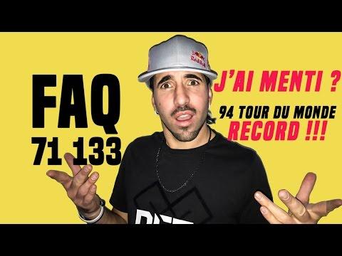 Mon record de tour du monde ? FAQ 71133 ABONNÉS COACH SEAN GARNIER