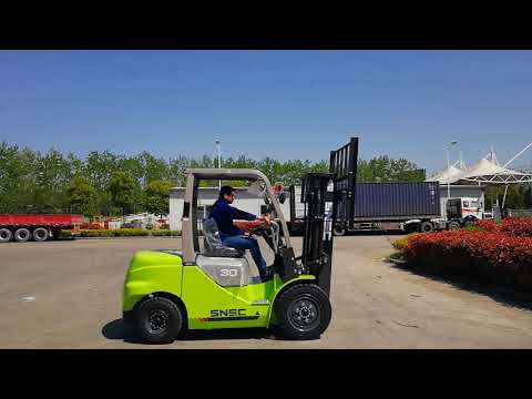 SNSC forklift 3 ton diesel montacargas to CHILE