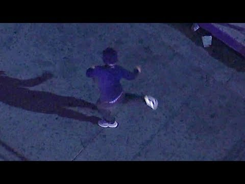 Crystal Rosas - Pursuit Suspect Breakdances for Cops Just Before Arrest