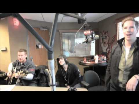 Lovehammers visit 102.9 WHQG The Hog in Milwaukee
