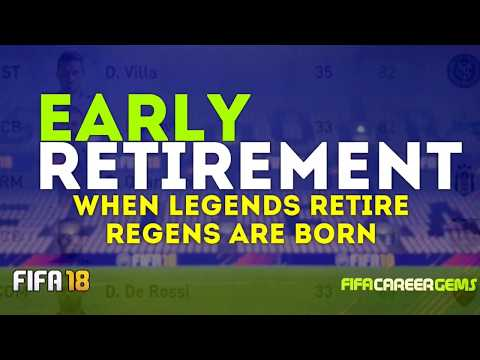 FIFA 18 EARLY RETIREMENT: REGEN SEARCH