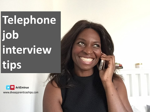 6 telephone job interview tips - how to pass a telephone interview