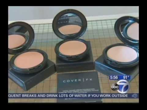 Cover FX on WABC-TV Channel 7 Eyewitness News - July 2013